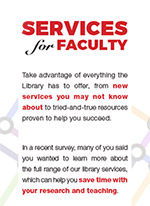 Brochure of Library services (PDF)